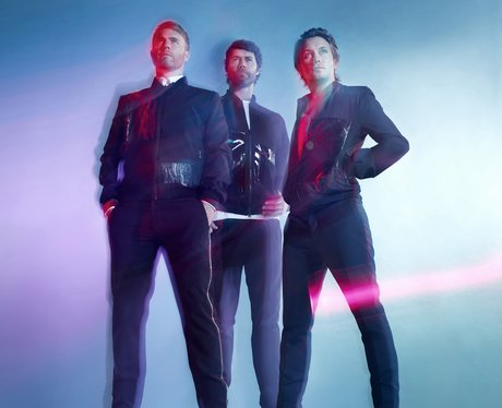 Take That with the three remaining members