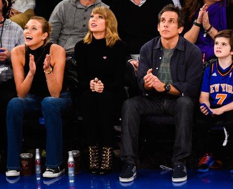 Taylor Swift and Karlie Kloss Basketball
