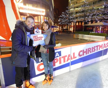 Capital FM at Spinningfields Ice Rink - Saturday 8