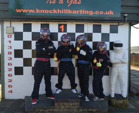 Capital Scotland F1 Style Race with Tony Macaroni