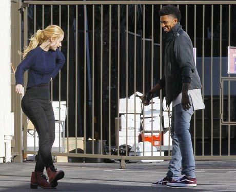 Iggy Zalea and Boyfriend Dancing
