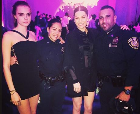 Jessie J, Cara Delevingne and The Police