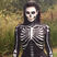 Image 7: Kim Kardashian dressed as a skeleton