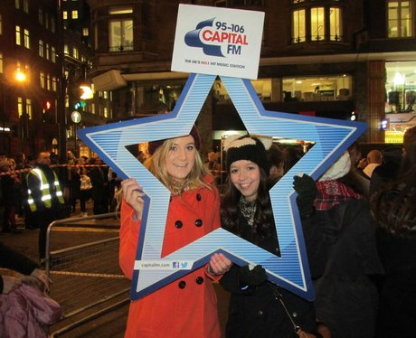 Oxford Street Christmas Lights 2014