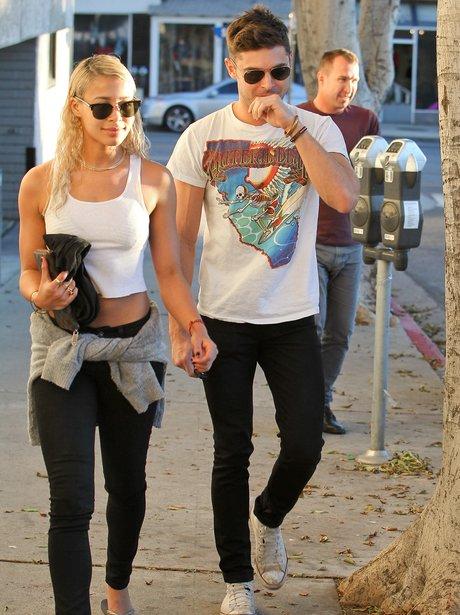 Zac Efron Girlfriend 2014 Zac Efron spotted with...