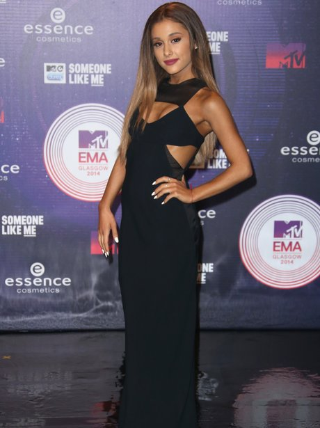 Ariana Grande MTV EMAs 2014 Arrivals