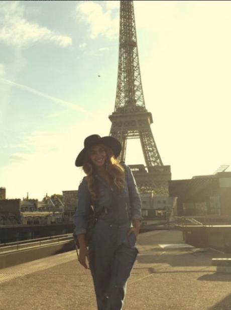 Beyonce in Paris