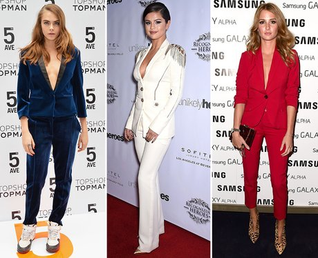 4 channel your inner cara delevingne with some androgynous styling suits can be sexy - Christmas Party Attire