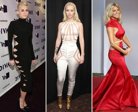 3. Or if you're feeling a bit more daring, cut outs have been a HUGE trend  this year. - Christmas Outfit Inspiration: 11 Of The Best Celebrity Party Dresses