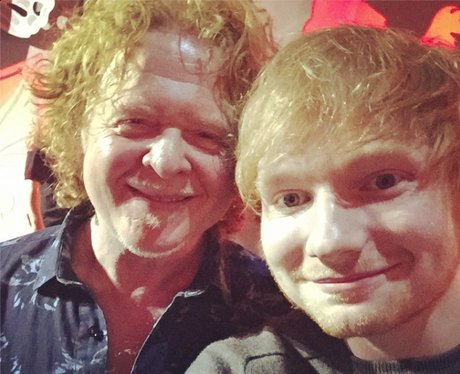 Ed Sheeran and Mick Hucknall