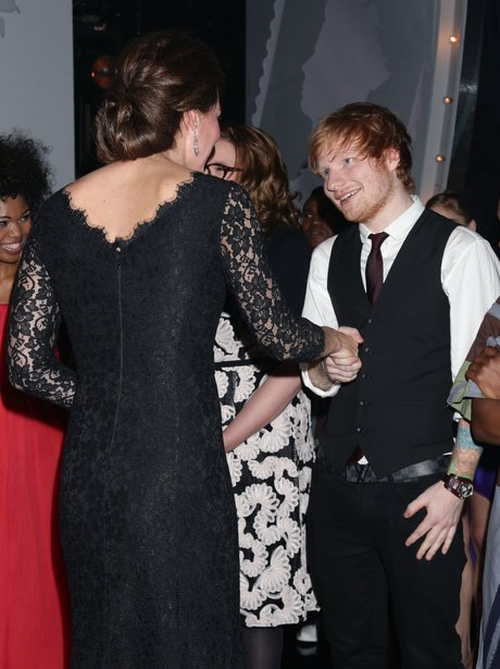 Ed Sheeran and Kate Middleton