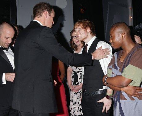 Ed Sheeran and Kate Middleton