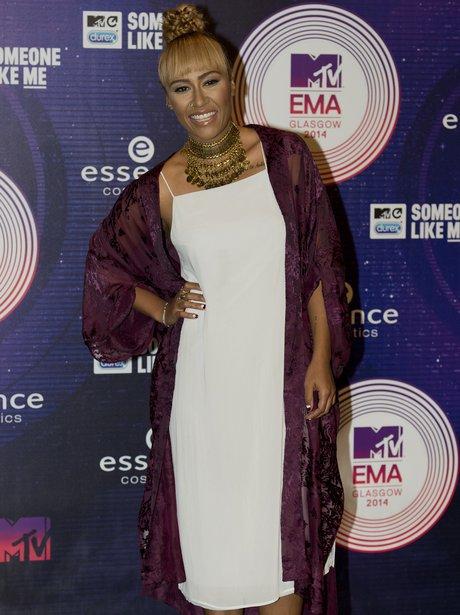 Emeli Sande MTV EMAs 2014 Arrivals