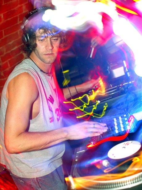 Howard Donald DJing