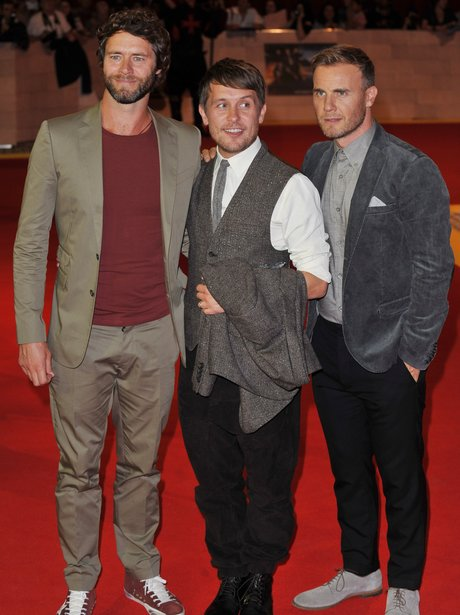 Howard Donald, Mark Owen and Gary Barlow