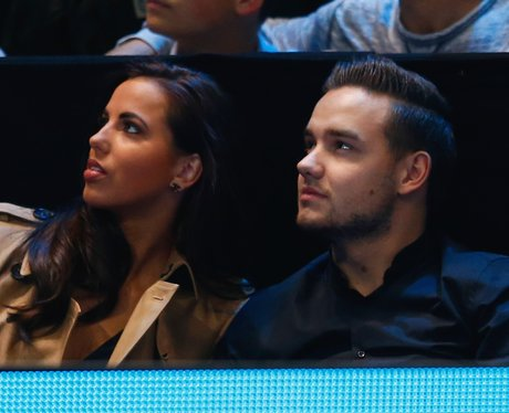 Liam Payne and Girlfriend Sophia  Watch Tennis