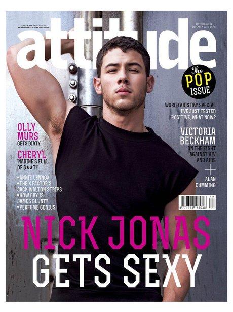 Nick Jonas Attitude Magazine 2014