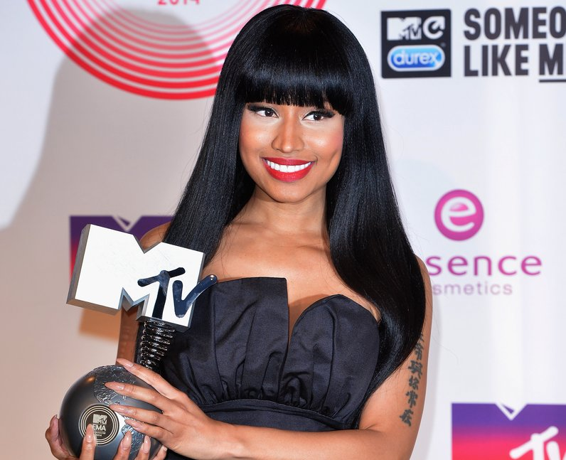 Nicki Minaj MTV EMAs 2014 Winner