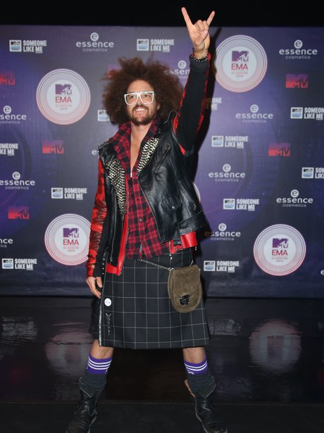 Redfoo MTV EMAs 2014 Arrivals