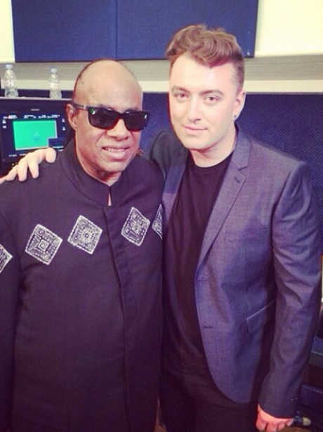 Sam Smith And Stevie Wonder Instagram