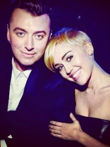 Sam Smith Miley Cyrus Instagram