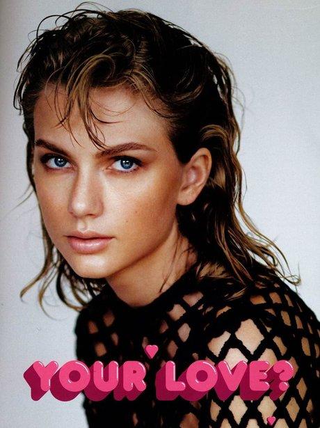 Taylor Swift Wonderland Magazine 2014