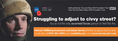 veteran mental health north east