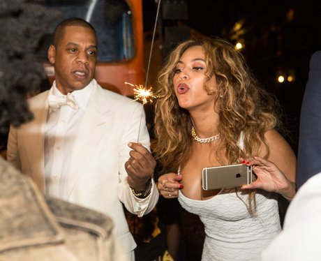 Beyonce and jay-z at solange's wedding