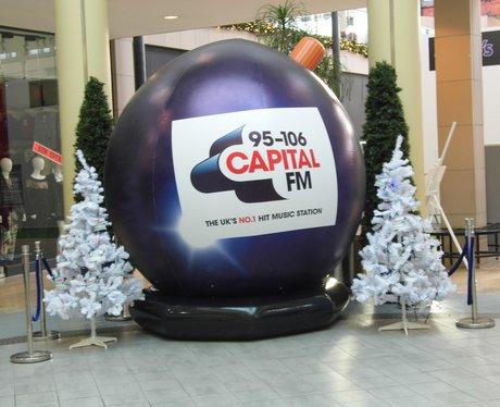 Capital FM - Jingle Bell Ball - Bolton Market Plac