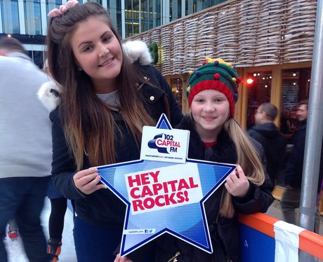 Capital FM at Spinningfields Ice Rink - Sunday 16t