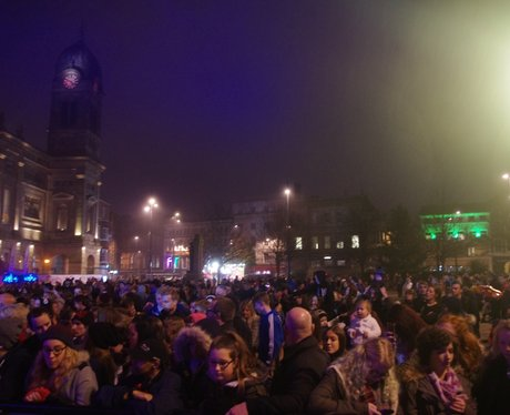 Derby Xmas Light Switch On