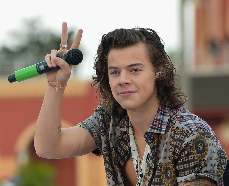 Harry Styles on the Today Show