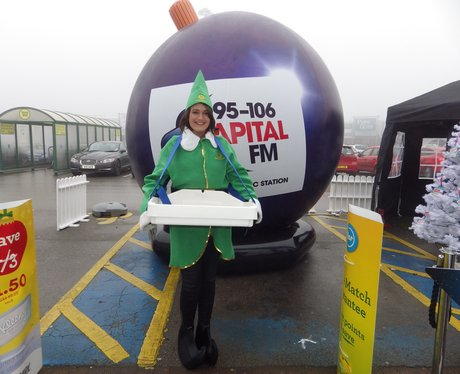 Jingle Bell ball Video Booth