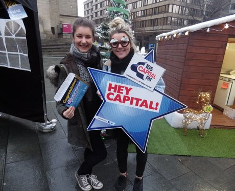 Jingle Bell ball Video Booth