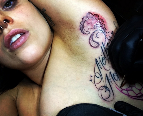 Lady Gaga Tattoo Instagram