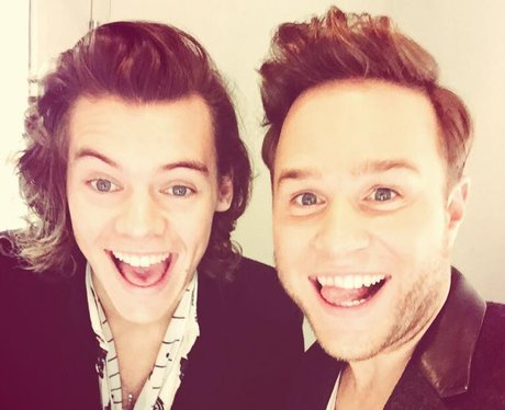 Olly Murs And Harry Styles Band Aid 30