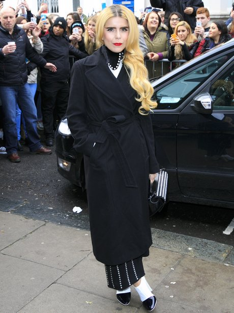 Paloma Faith Band Aid 30 recording