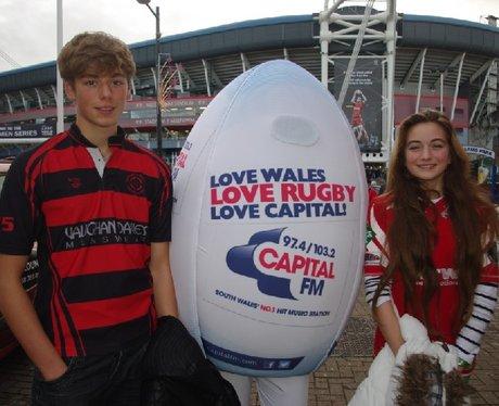 Spot the Ball @ Wales vs New Zealand