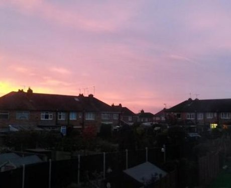 Sunrise of the East Midlands