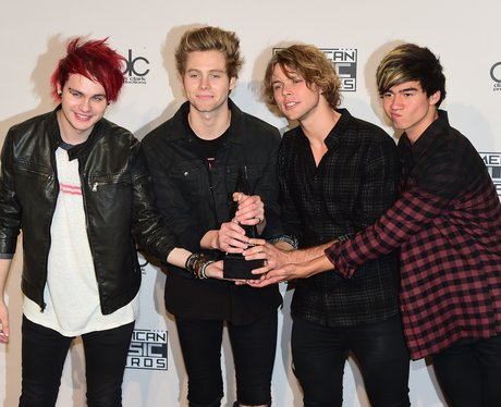 5 Seconds of Summer American Music Awards 2014