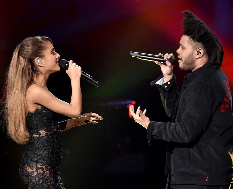 Ariana Grande and The Weeknd