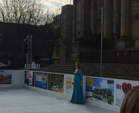 Capital FM at Bolton Ice Rink Launch