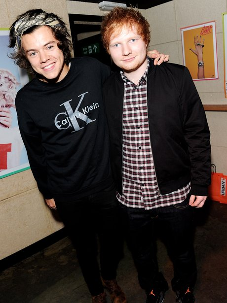 Ed Sheeran and Harry Styles
