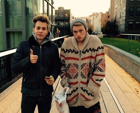 Jamed and Tristan The Vamps Instagram