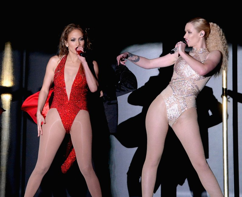 Jennifer Lopez and Iggy Azalea