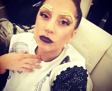 Lady Gaga tired on Instagram
