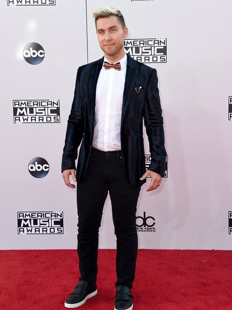 Lance Bass American Music Awards 2014
