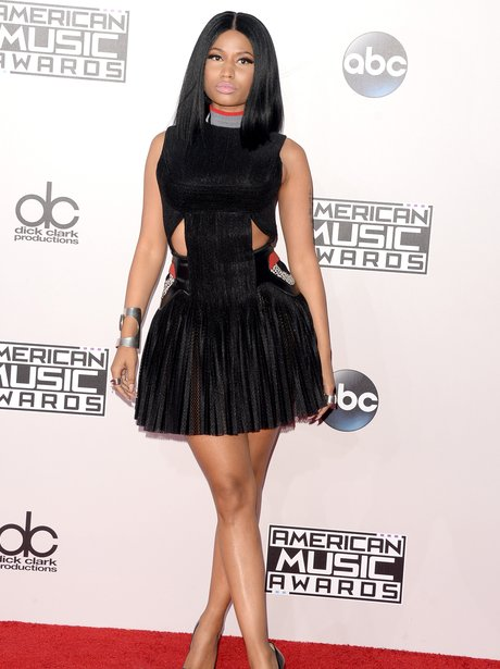Nicki Minaj American Music Awards 2014 Arrivals