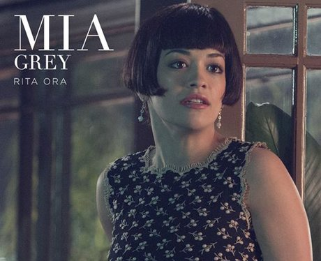 Rita Ora in Fifty Shades of Grey