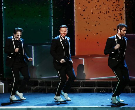 Take That perform on X Factor